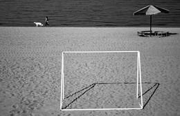 Осенний пляж. / ...