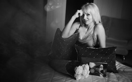 «Наташа» / Теплая, уютная фотосессия в день рождения.