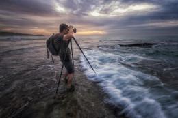 Главный герой / море и фотограф