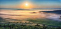 Июльский рассвет / Восточный Казахстан. 5 часов утра.