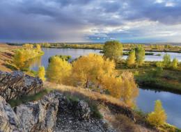 Осенняя / Вслед уходящей грозе. Иртыш.