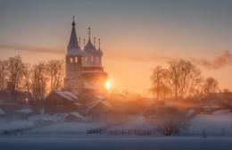 Деревенское утро / Ивановская область, с. Дунилово