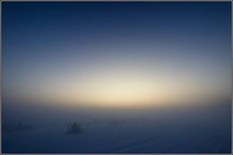 24 / зима, вечер, туман