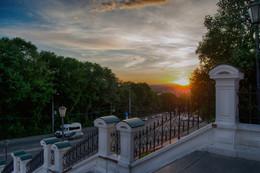 Смоленск вечерний / закат над Смоленском
