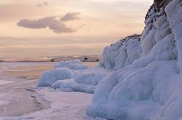 О Байкале. Декабрь. / Мыс Хадарта, Малое море, Байкал.