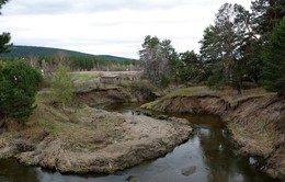 Река Лугавка / Красноярский край. Река Лугавка.