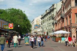 Ритмы города / Москва, Арбат, май
