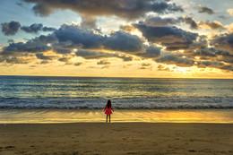 закат на пляже Карон / sony a6000 Phuket Karon beach
