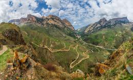Кавказ / Двухрядная панорама, 24 кадра