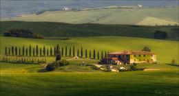 Панорама тосканская / Тосканская ферма.