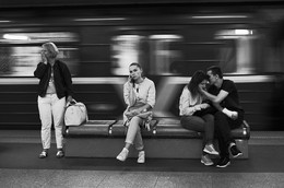 "Без названия / From ""Kamiennaja Horka""(Stone Hill) metro station, with love. Minsk, Belarus Welcome:  My insta - https://www.instagram.com/ivanuralskybnw My site - https://www.ivanuralsky.com"