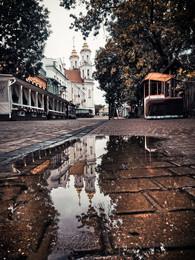 После дождя / Городской пейзаж