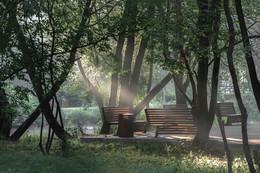 Август / август, Москва, парк Свиблово