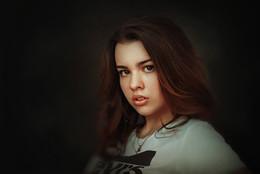 Анастасия / портрет, девушка, арт,фотосъёмка, фото девушек, фотограф Роман Сергеев, фото-сессия,Гламур