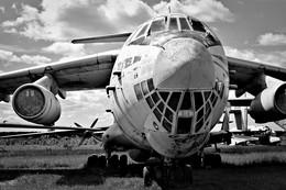 Smile / Самолет Ил-76 в музее ВВС. Монино, Московская область