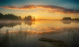 ...рассветная из лета.. / озеро Шлино