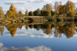 Дыхание осени. / Осенний пейзаж.