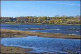 Осенние зарисовки / река Белая
