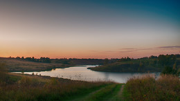 «озеро Телецкое» / закат над озером
