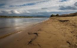 Песчаный берег / г. Муром, сентябрь 2018