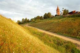 Позолоченный сезон / Осень, Чердынь, вид с Троицкого холма