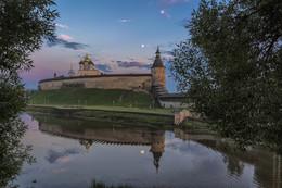 летний вечер / июль, Псков, Кремль