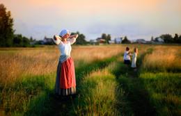 Истории из детства. Мое деревенское лето / В кадре Ольга и Ярослава Котовы, Линда Постонен