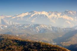 Без названия / Алатау. Вид с горы Кок-Тюбе.
