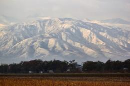 Без названия / Осень на равнине, зима в горах.
