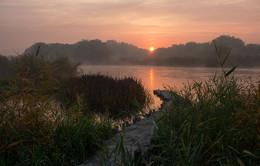 Утро Gipanisa / Река Южный Буг. с. Мигея. Украина.