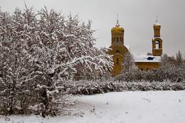 Первый снег в Челнах.2018.г / Через 10.дней календарная зима.