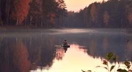 Последняя рыбалка перед ледоставом / Спортивный интерес к рыбалке возник в последние дни осени перед ледоставом