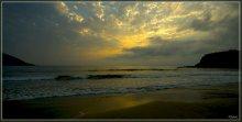 Там за горизонтом! / Закат солнца над Тихим океаном