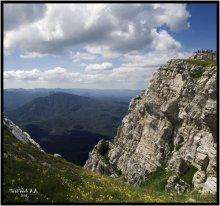 Эклизи-Бурун. На вершине. / Чатырдаг. Крым.