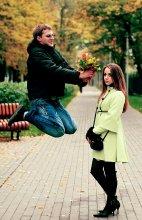 ну сколько можно прыгать вокруг тебя! / )))