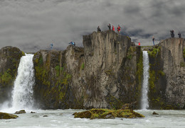 Приполярная фотосессия / Один из районов Исландии с водопадами
