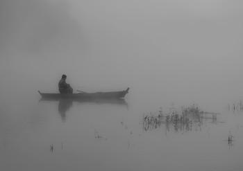 В ожидании / Река Южный Буг. с. Мигея. Украина.