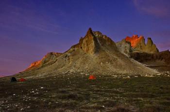 В долине Замков / Западный Казахстан