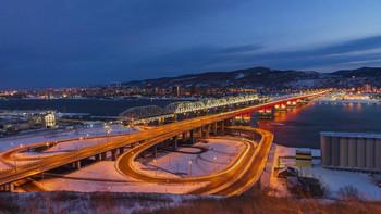 Николаевский мост / Новый, четвертый мост через Енисей в Красноярске