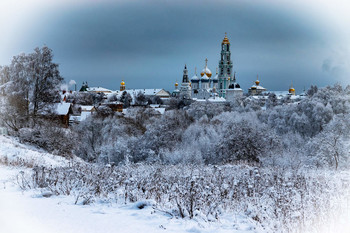 Зима в Сергиевом Посаде / Московская обл.город Сергиев Посад