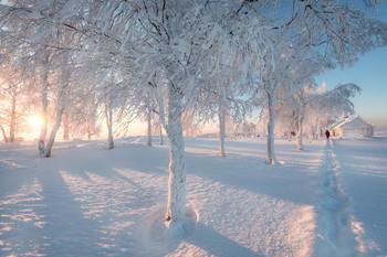 Белая зима / На Белой горе. Пермский край.