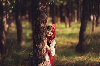 красная шапочка / на тропинке