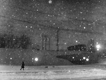 / январь.вечер.