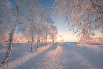Рассвет на Белой горе / Пермский край.