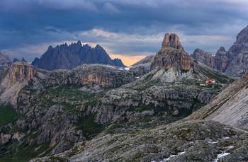 Домик в горах / Италия