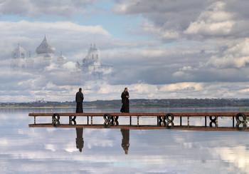 Место послушания / Плещеево озеро, Никитский мужской монастырь.