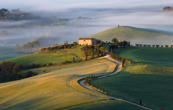 Долина туманов / Италия