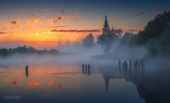 Предрассветное мгновение / Ивановская область, с. Дунилово