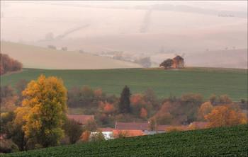 """""""Осенний блюз"""" / Старая мельница в местечке Кунковице,Чехия."""