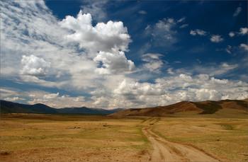 По дороге с облаками... / Монголия